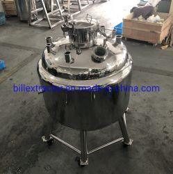 Roestvrij staal 500L Beklede Revoery Tak met de Dekking van het Mangat van de Druk