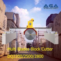 De multi Machine van het In blokken snijden van Bladen om het Graniet/het Marmer (DQ2500) te snijden
