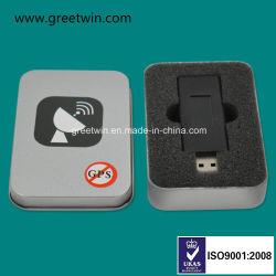 Черный диск USB, он отправляет сигнал GPS мини-блокирующее устройство GPS