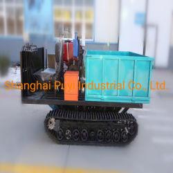 고무 트랙 및 바퀴가 있는 Puyi 이동 차인 1.5톤