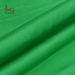 De in het groot Prijs van de Stof van de Kleurstof van de Zijde van de Kleur Habotai van de Voorraad Dunne Groene Stevige Zuivere