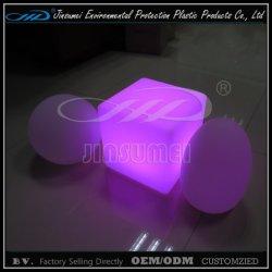 Meubles de la barre de changement de couleur avec télécommande lumineuse à LED