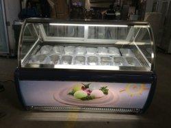슈퍼마켓 매장의 식료품 가게를 위한 프로스트 아이스크림 쇼케이스(Modern No Frost Ice Cream Showcase)