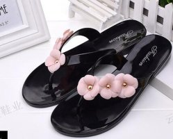 Kristall/Jelly Schuhe der Flipflop-/Kurbelgehäuse-Belüftung für Damen