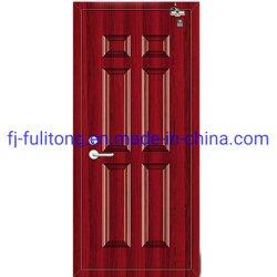 Einzelne Blatt-Metallstahlinnentür-feuerfeste Türen