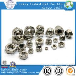 Noce Hex dell'acciaio inossidabile noce/noce quadrata/2h/noce della saldatura/noce della flangia/controdado di nylon