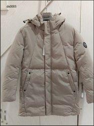 Keine Vorauszahlung-Breathable Baumwolle aufgefüllt/Wadded Mann-Umhüllungen-Winter-Mantel mit Haube