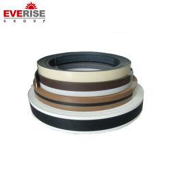 0,75 mm d'épaisseur de chant pour la table de baguage en PVC