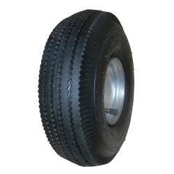 4 pouces à 16 pouces outil panier roue en caoutchouc solide et 3.50-4 pneumatique