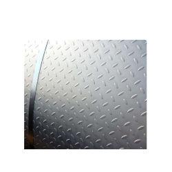 Anti-Slip 지면 S235jr 아연 입히는 탄소 강철 Checkered 격판덮개