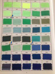 標準的なサテン、ポリエステルサテンファブリック、光沢があるツイストサテンの絹ファブリック(カラー・チャート3)