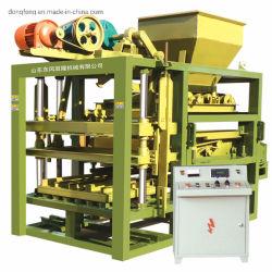 Verpletterde het Maken van de Baksteen van de Steen het Maken van de Baksteen van de Aarde van de Machine Qt4-25 Machine