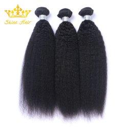 Het in het groot Onverwerkte Menselijke Haar van 100% van Zwarte Kleur #1b/Natural
