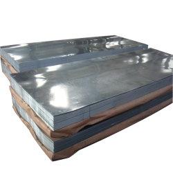 Le matériau de couverture Spangle ordinaire G90 g laminés à froid de Zn275DX51d'acier galvanisé à chaud SGCC Feux de feuille de zinc métal Prix de la bobine