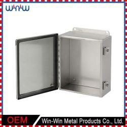 Usine étanche de plein air d'alimentation électrique de boîte de jonction métallique en acier inoxydable