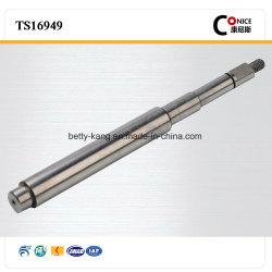 Certifiée ISO 9001 tige en acier au carbone de précision fait sur mesure