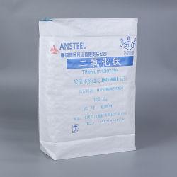 20 ~ 50kg リサイクル PP PVC PE ブロックボトムバルブバッグ 農業用およびプラスチック用顆粒分包