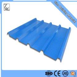 PPGI Réfrigération industrielle en carton ondulé en acier de couleur feuille de métal prépeint tôle de toit