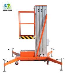 8m a 12m Leve Antena rebocável plataformas de elevação de elevação de plataforma de trabalho