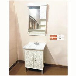 Bon marché à bas prix Salle de bains de montage au sol de la vanité de PVC