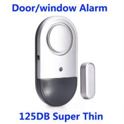 Nova chegada Super Fino 125dB Anti Ladrão Alarme Vidro de porta com o interruptor ligado/desligado