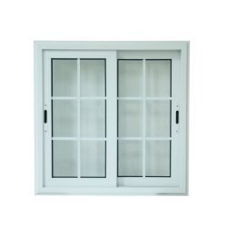 Cheap UPVC de conception moderne des portes coulissantes et Windows (JFPW005)