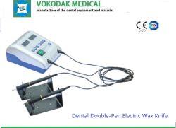 Instrument de laboratoire dentaire Double-Pen Cire Dentaire couteau électrique