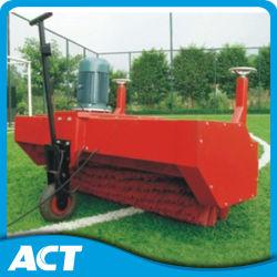 Щеточная машина травы футбола искусственная для установки