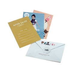 Envelopesの卸し売りFancy Printed Paper Thanks Gift Card