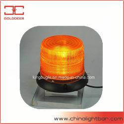 Vehículo de emergencia de advertencia LED baliza con cúpula de color ámbar (TBD327A-LEDIII)
