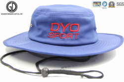 Godet Polyester populaire Hat/ /Poisson Sun Hat Hat avec broderie