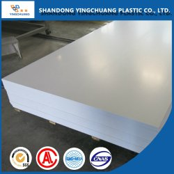 Placa de espuma de PVC impermeável de material de construção