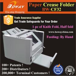 1200 Folhas/H4 Papel tamanho A3 Pasta meia dobra do Escritório de Alimentação Manual da Máquina de dobragem