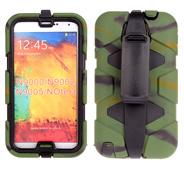 Copertura sottile dura ibrida Anti-Shock di caso del basamento dell'armatura della clip della cinghia per il iPhone 6 6g più la nota 2 della galassia S6 S5 S4 S3 di 4G 5 5s 5g 5c 3 4 N9000c30