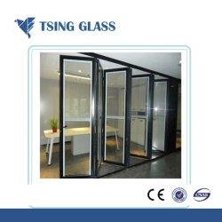 زجاج عازل شفاف/ملون/مسطح/مثني ساخن منخفض E/زجاج معزول بشهادة CE/SGS/ISO