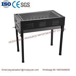 Rotisserie rotativo commerciale della griglia del BBQ del carbone di legna