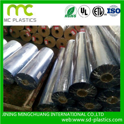 PVC Phalates свободно/Eco/нетоксическое пленка/пленка прозрачных/цвета винила для гибких воздуховодов, упаковывать, справляться и конструкции