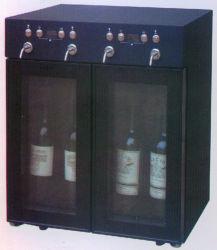 4 Flaschen Weinkühler / Wein Dispenserwine Chilller / Weinkeller / Weinklimaschrank (SC-4S)