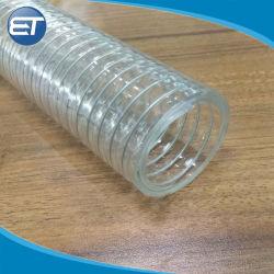 Промышленные ПВХ проволоки пружины усиленные шланг трубки с красочными малый вес