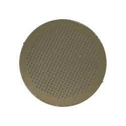 En acier inoxydable Photo gravure chimique des perforations feuille de métal