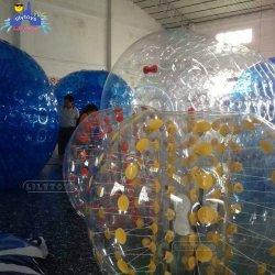 2018 [ولّ سلّر] بيع بالجملة كرة حفرة كرات قابل للنفخ [زورب] كرة إيجار لأنّ عمليّة بيع