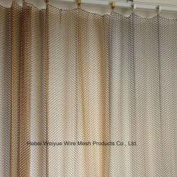 Декоративные проволочной сеткой/цветные алюминиевый корпус из нержавеющей стали звено цепи сетка шторки