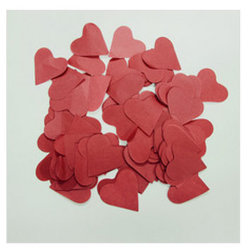 Decorationのための28GSM Tissue Paper Red Color Wedding Confetti