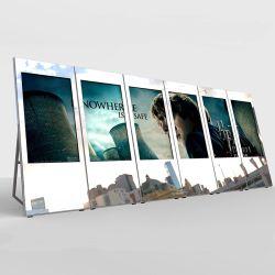32~98 Zoll-magisches Spiegel-Glas mit Bildschirmanzeige-Netz WiFi Anzeigen-Spieler-Multimedia-Kiosk-video bekanntmachendem Spieler-DigitalSignage des LCD-Bildschirm-HD