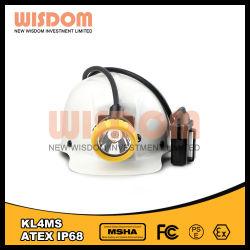 La alta calidad Super brillante KL4ms minera LED Lámpara de Cap Minería/faro