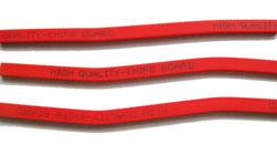 Stokken van het Knipsel van pvc de Plastic voor Polaire Scherpe Machine