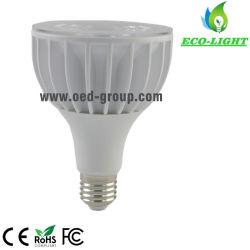 175-265VおよびEpistarの穂軸LEDとの15deg/24deg/36deg同価30 LEDの球根40W 4000lm