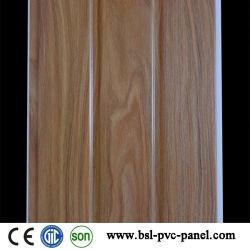 30cmの溝インドの市場(JT-G-07)のための木製デザインPVC壁パネル