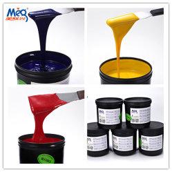 De UV Inkt van de Kleur van de Druk van de Serigrafie voor Documenten, BOPP, pvc, PC enz.