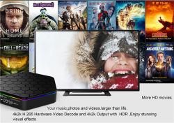 新しい! S912 2g 16g Ce&ISOのアンドロイド7.0 TVボックスが付いている人間の特徴をもつTVボックスデジタルサテライトレシーバとPendoo T95z